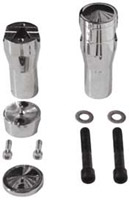 Smooth Top Risers for Wide Springer Forks