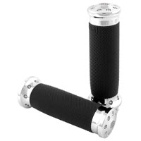 Roland Sands Design Chrome Tracker Grips