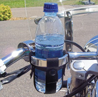 Leader Road Runner Drink Holder with Ultra-Snap 1-1/4″ Handlebars