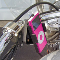 Leader eCaddy Deluxe iPod nano Mounting Kit for 1″ Bars
