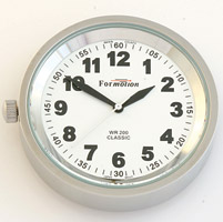 Formotion Classic Series White Face Clock Snap-Back capable
