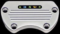 Yankee Engineuity Tach & Speedo Chrome Stock-Style Mount with LED Light Bar & Harness