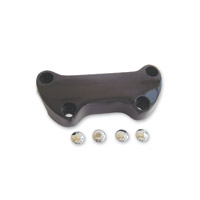 Milwaukee Twins Standard Smooth Black Handlebar Top Clamp