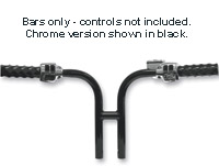 LA Choppers 1-1/4″ Chrome Club Handlebars