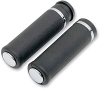 Rubber Grips with Accent Rings and End Caps
