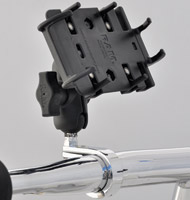 CruisinGear Cell Phone or GPS Mount 1-1/4″ Handlebars