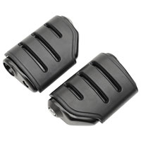 Kuryakyn Black Trident ISO Dually Footpegs without Adapter