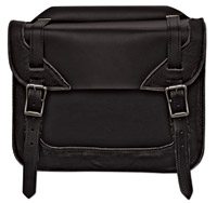 Carroll Leather Distressed Saddlebags