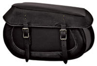 Carroll Leather Distressed Large Saddlebags