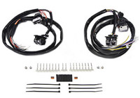 V-Twin Manufacturing Chrome Handlebar Switch Kit Equipped without Radio/Cruise