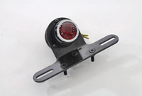 Black 1-1/2″ Round Tail Lamp