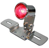 Chrome Round Tail Lamp