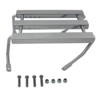 V-Twin Manufacturing Chrome Three Channel Luggage Rack