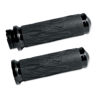 Avon Grips Black Flame Grips for Dual Cable Models