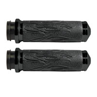 Avon Grips Black Flame Grips for Throttle-by-Wire Models