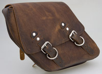 Paughco Distressed Saddlebag for Sportster