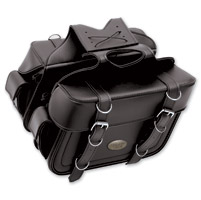 All American Rider Flap-Over Box-Style Slant Saddlebags