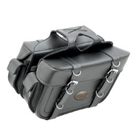 All American Rider Throwover Box-Style Slant Saddlebags