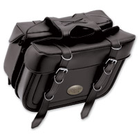 All American Rider Box Style X-Large Slant Saddlebags