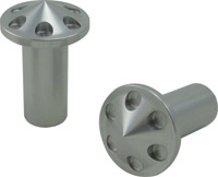 Joker Machine Handlebar Clamp Hole Plugs, Clear