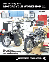 Whitehorse Press How to Set Up Your Motorcycle Workshop, 3rd Edition Book