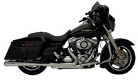 SuperTrapp Chrome Megaphone Straight Style Mufflers