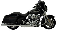 SuperTrapp Chrome Megaphone Mufflers