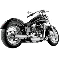 SuperTrapp 2-Into-2 Staggered Internal Disc Exhaust for  FXST and  FLST