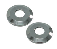 Joker Machine Chrome Handlebar Riser Cup Washers