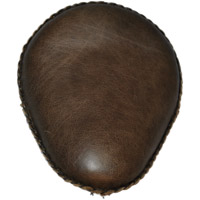 LaRosa Design 13″ Bad Ass Solo Seat Rustic Brown Leather