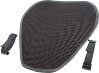 Tech Series Top Pad Black 3D Micro Air Flow with Polymer Super Cruzer