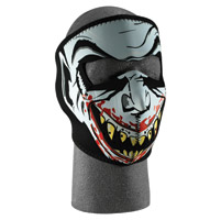 ZAN headgear Neoprene Face Mask, Glow In The Dark Vampire