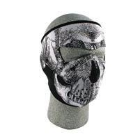 ZAN headgear Oversized Neoprene Face Mask, Skull