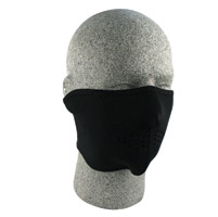ZAN headgear Oversized Neoprene 1/2 Face Mask, Black