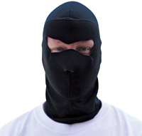 ZAN headgear Cold Weather Full Black Mask