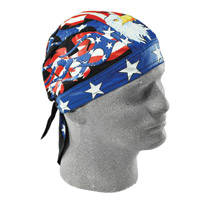 ZAN headgear Road Hog Flydanna USA Flames