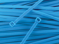 Secure Cable Ties 11-7/8″ Standard Nylon Blue Cable Ties
