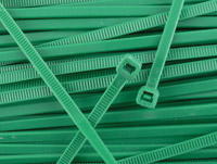 Secure Cable Ties 11-7/8″ Standard Nylon Green Cable Ties