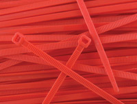 Secure Cable Ties 11-7/8″ Standard Nylon Red Cable Ties