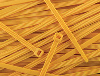 Secure Cable Ties 11-7/8″ Standard Nylon Yellow Cable Ties
