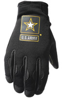 Power Trip U.S. Army Halo Black Men's Gloves