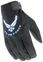 Joe Rocket Airforce Halo Black Men's Gloves