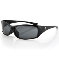 ZAN headgear South Dakota Black Sunglasses with Smoke Lens
