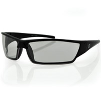 ZAN headgear Utah Black Sunglasses with Clear Lens