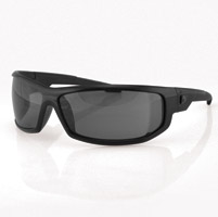 ZAN headgear AXL Black Sunglasses with Smoke Lens