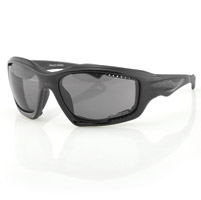 Bobster Desperado Black Sunglasses with Smoke Lens