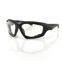 Bobster Desperado Black Sunglasses with Clear Lens