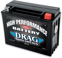 Drag Specialties High Performance Battery