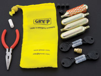 Gryyp Turn and Go Tubeless Tire Puncture Repair Kit