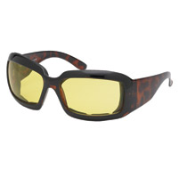 Chap'el Performance Padded Brown Sunglasses with Night Lens